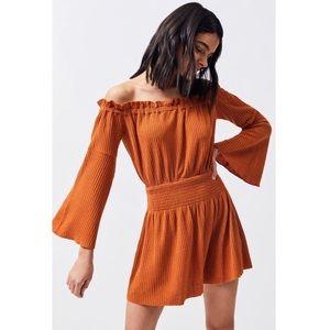 Somedays Lovin' Orange Sky For Love Dress Size XS
